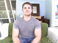 Sexy boy attempts to swallow movie film 1