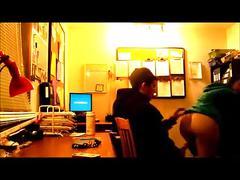 Fucking the intern at work - hiddencam ( no sound )