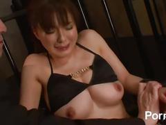 bondage, hardcore, milf, japanese, asian, mom, mother, big-tits, natural-boobs, sex-toys, adult-toys, gangbang, cumming, cumshot, cum-on-tits, brunette, busty