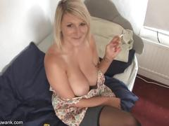 big tits, blonde, smoking, demi, scott, fetish, big, huge-tits, boobs, joi, pov