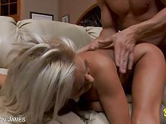 Nikita von james likes big cock