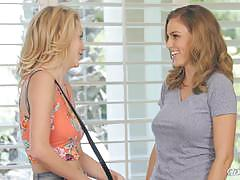 Girl on girl with sexy babes ryan ryans and blake eden