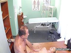 Doctor fucked his bosses hot wife