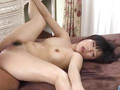 asian, blowjob, hardcore, japanese, fucking, sucking, mom, trimmed