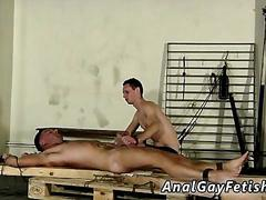 Emo outdoor sex made to suck his first cock
