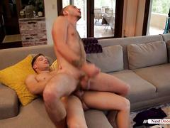 Horny alex greene tight ass fucked with the big cock of bridger watts