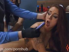 bondage, toys, anal, rough sex, assylum, babe, rough, bdsm, kink, carmen-capri, punish, ass-to-mouth, anal-therapy, suspension, brunette, tattoos, big-boobs
