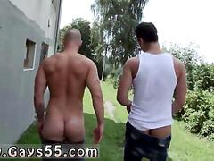 Gorgeous stud nails a hot guy in public bareback