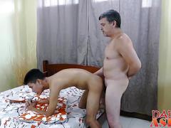 asian, daddy, twink, anal, fucking, sucking, doggystyle
