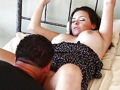 Girl loves big cock @ sexually explicit