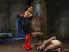 shemale big boobs, shemale domination, tranny babe, face sitting, whipping, blowjob, rimjob, rope bondage, blindfold, ts seduction, kink, jessy dubai, chad diamond