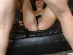 Freshy 18 yo mandy sky gets throated and ass fucked to extreme