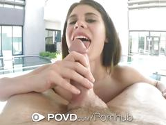 Povd - lexy lotus has her pussy licked in pov