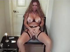 blonde, fetish, milf, smoking, kink, mom, mother, smoking-mom, big-tits, stocking, cigarette, solo-girl, teasing, shaved-pussy, close-up, masturbating, high-heels