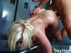 Madison ivy fuck in cloakroom