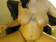 Extremely hot chubby playing around
