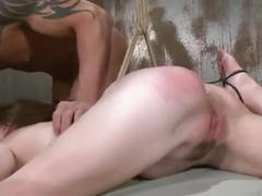 Jessi palmer bound tied and fucked bdsm