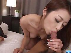 Japanese with hairy pussy, maki hojo, craves for a wild fuck