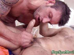 Masseur turns amateur hard