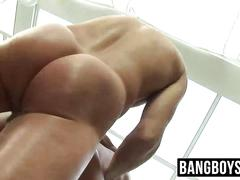 Hot horny guys love a good bareback fucking on the spa table