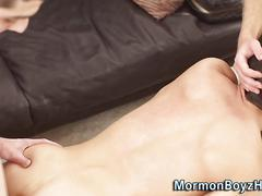 Mormon amateur spurts sex