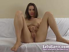 lelu love, blowjob, solo, tease, amateur, fetish, homemade, 1080p, instruction, teasing, lipstick, virtual