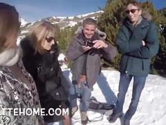 Baise a 4 dans les alpes libertinage pour les voyeurs france
