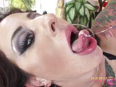 Dollie darko lures men into her deep dirty holes