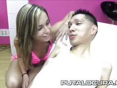 Puta locura handicapped guy fucked by a pornstar