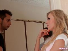 Pure xxx films blonde babe michelle ferrari taken for a ride