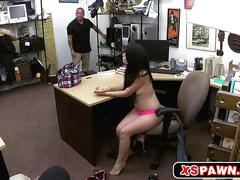 Horny hottie chick needs huge dick to fuck for cash
