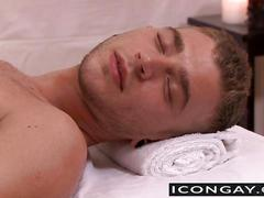 Lustful masseur suddenly wants some steamy anal hardcore sex