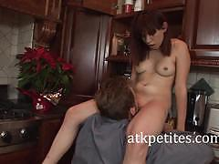 Petite amateur fucked hard and rough