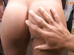 Cute babe banged by pervert pawn dude at the pawnshop film