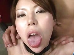 Rino asuka loves having hands all over her pussy