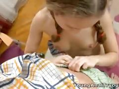 Young anal tryouts - that cute schoolgirl face