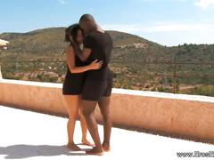 Ebony deep erotic lovers