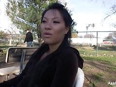 Asa akira behind the scenes interview