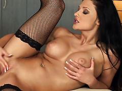 Aletta ocean masturbates with her dildo