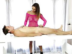 Meatpole massage and fuck from ashley adams