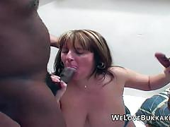 Randy bbw takes on these huge cocks