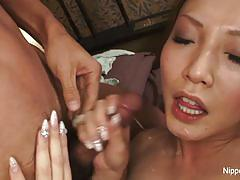 Japanese beauty loves to fuck