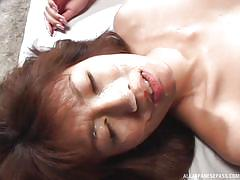 babe, japanese, bukkake, cumshots, brunette, censored, bukkake now, all japanese pass, hikaru nishino