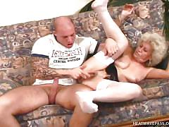Berta gets her fuck on with a young guy @ fuckin at 5 0 1 5: anal edition