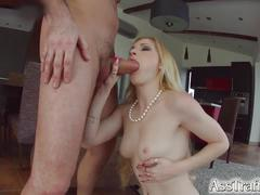 anal, blondes, cum swallowing, cum in mouth, gaping, hd videos, hardcore