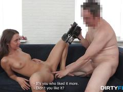Dirty flix - creampied by tricky porn agent