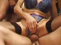 Busty french milf fucked and fisted