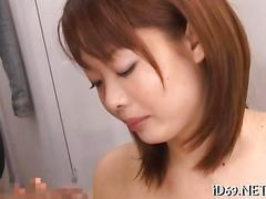 Asian chicks dominated hard