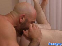 Mature stud assfucking and rimming ass