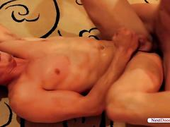 Drake tyler and garrett cooper in an intense gay sex